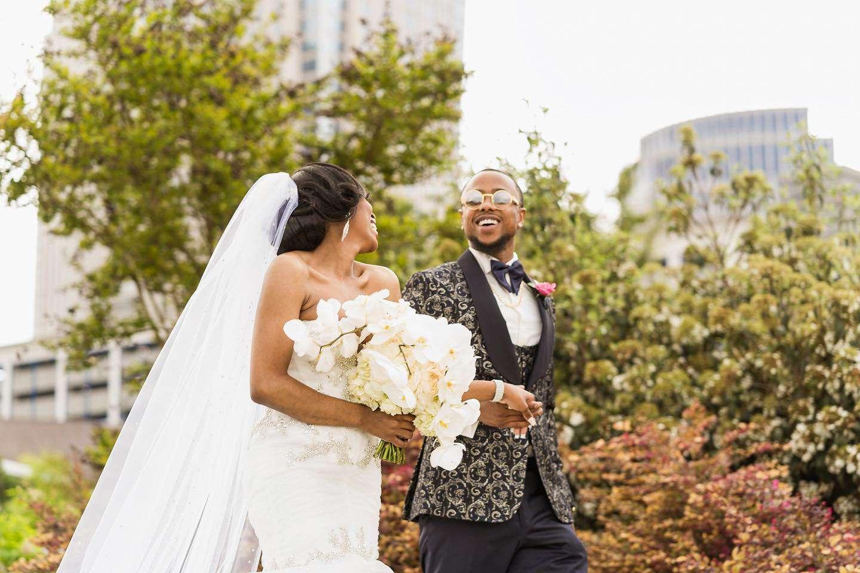 black wedding photographer