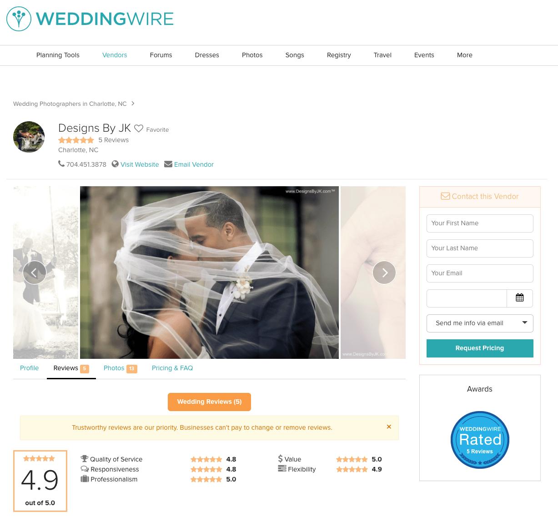 charotte wedding photographer